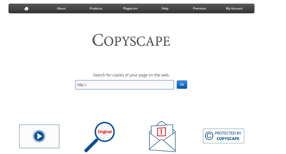 Check unique bài viết với copyscape