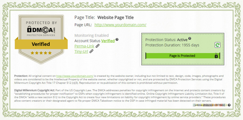 DCMA scan - Công cụ kiểm tra seo website