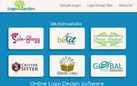 Logo Garden thiết kế logo miễn phí online cực nét