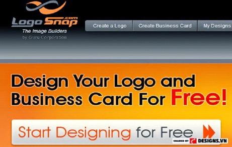LogoSnap giúp bạn thiết kế logo công ty miễn phí chuyên nghiệp