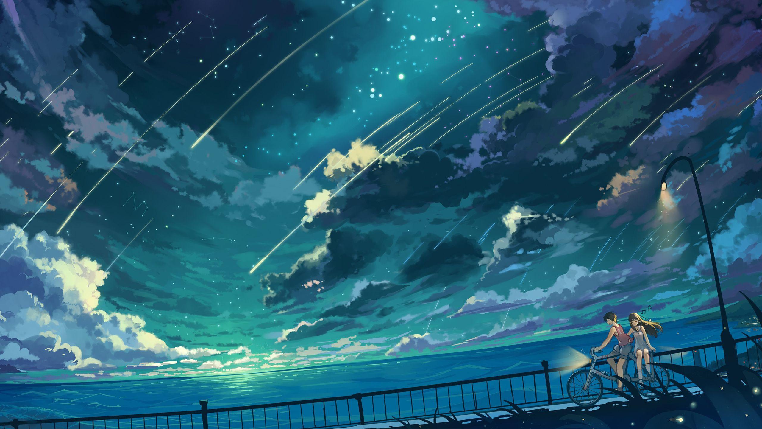 Hình nền 4k cho pc trong anime về tình yêu