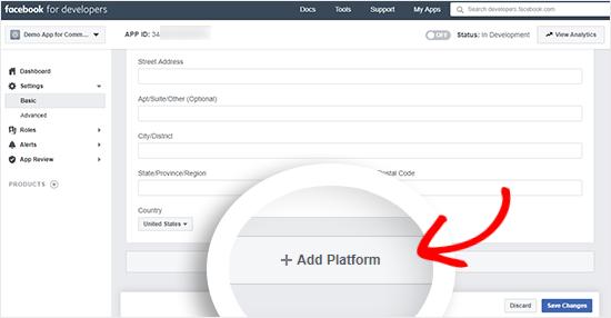 Add Platform