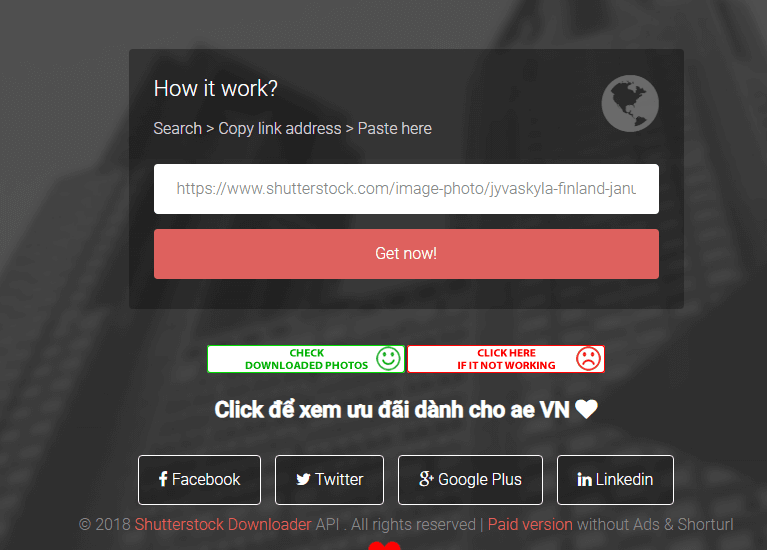 Cách download hình trên shutterstock free ShareDVN.NET