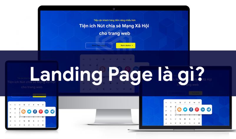 Trang landing page là gì
