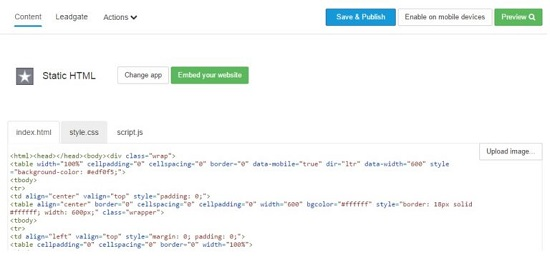 Nếu muốn dùng một trang trên website bán hàng của mình để làm Landing Page Facebook thì chọn ứng dụng Your Website (Hình Bước 6)