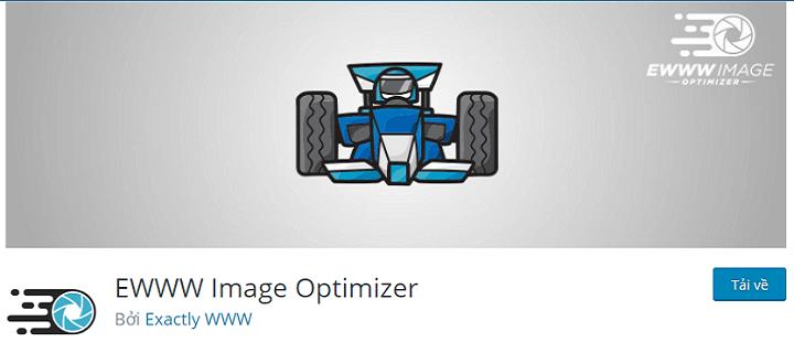 Plugin nén ảnh wordpress EWWW Image Optimizer