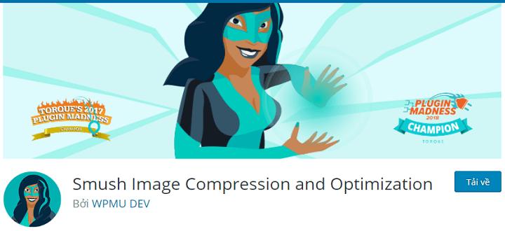 Smush Image Compression and Optimization plugin tối ưu hóa hình ảnh cho wordpress