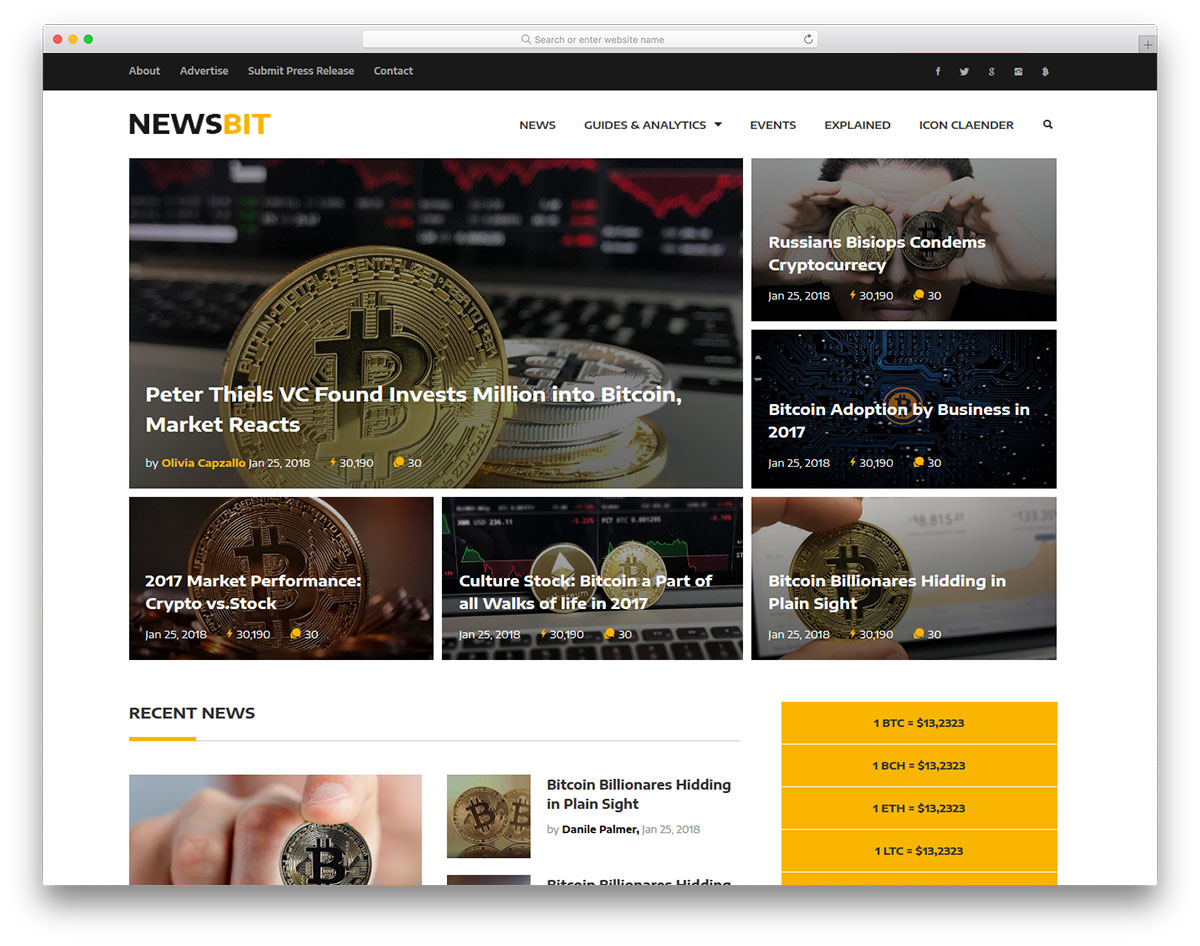 Themes blogspot đẹp kiểu forex Newsbit