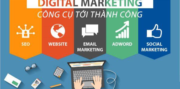 4 Công cụ marketing online hiệu quả phổ biến nhất hiện nay