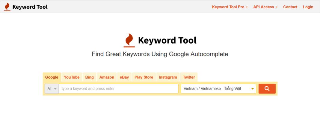 Keywordtool.io là gì