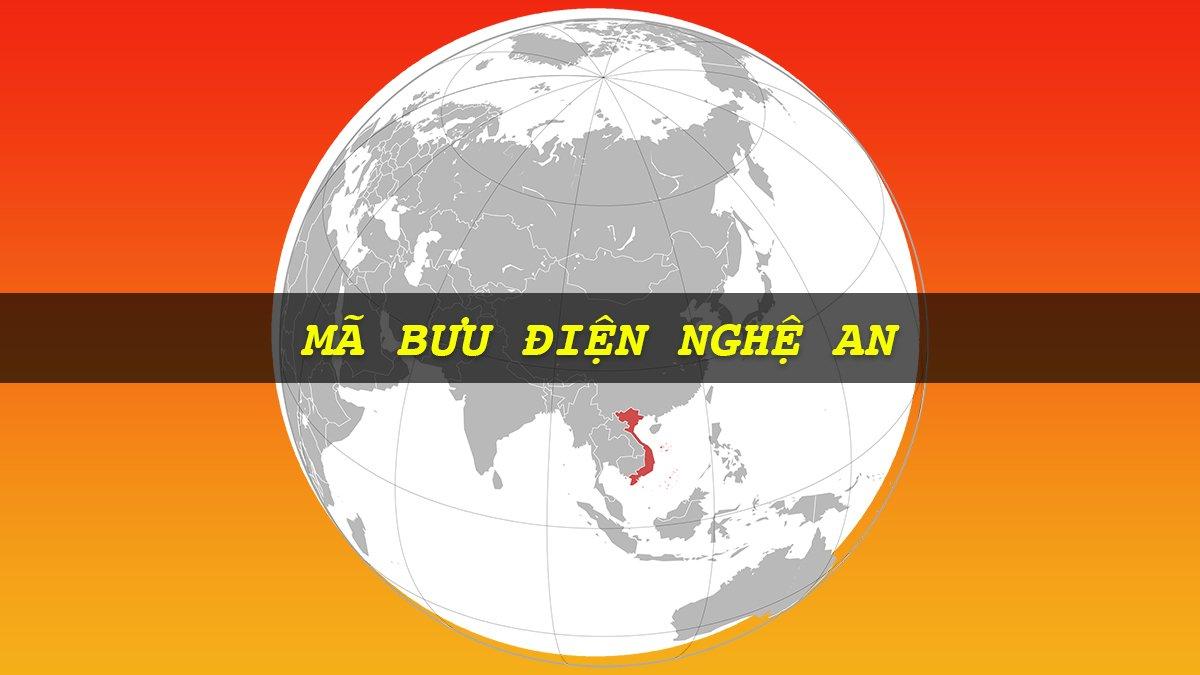 Mã bưu điện Nghệ An