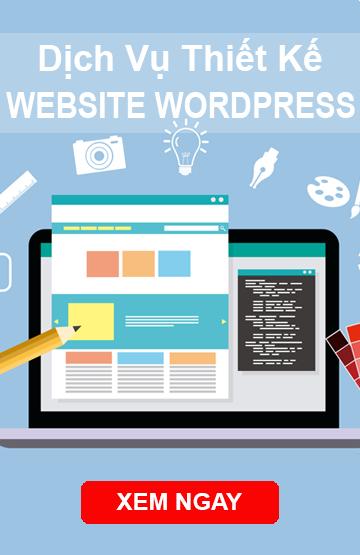 Dịch vụ thiết kế website wordpress giá rẻ