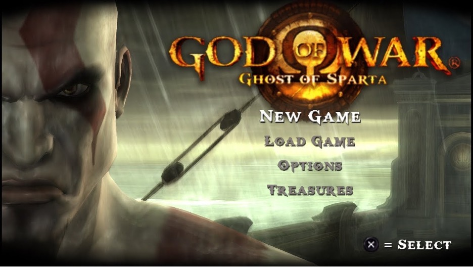 Game God of War- Ghost of Sparta