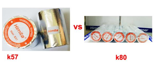 Phân loại cuộn giấy in hóa đơn nhiệt