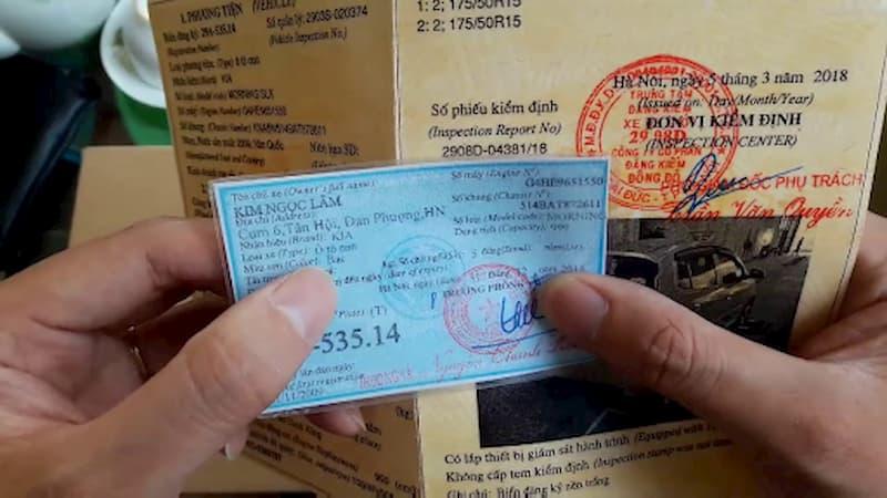 Kinh nghiệm mua xe ô tô cũ là hãy xem thật kỹ giấy tờ xe