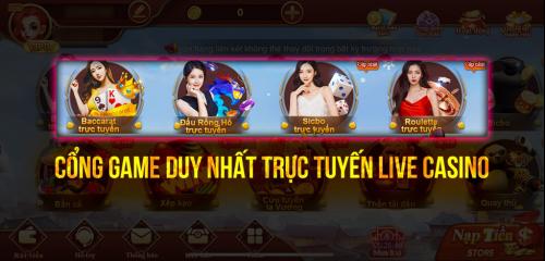 Chơi Game Live Casino CF68 Để Chinh Phục Đẳng Cấp