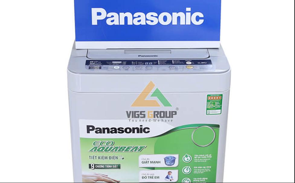 Bảng mã lỗi máy giặt Panasonic kèm tài liệu sửa chữa