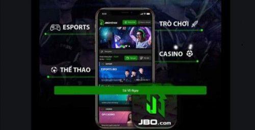 Tải và cài đặt ứng dụng JBO để tham gia cá cược