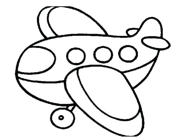 Tranh vẽ cho bé hình máy bay